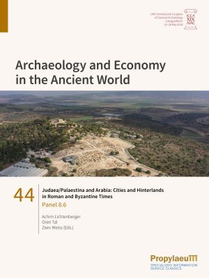 Judaea/Palaestina and Arabia: Cities and Hinterlands in Roman and Byzantine Times
