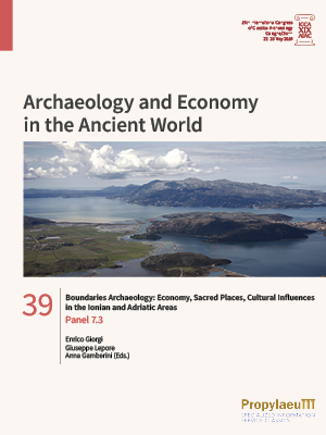 Boundaries Archaeology: Economy, Sacred Places, Cultural Influences in the Ionian and Adriatic Areas